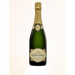 Bouteille de champagne blanc de blancs - 100% Chardonnay