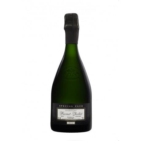 Bouteille de champagne chardonnay spécial club 2013