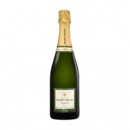 Bouteille de champagne brut premier cru